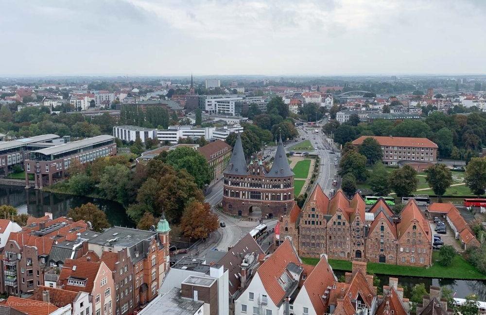 Holstentor en Lübeck