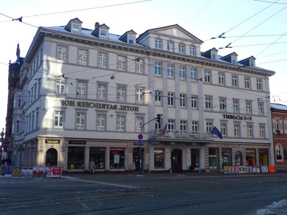 Hopedarse en el Hotel Bayrischer Hof