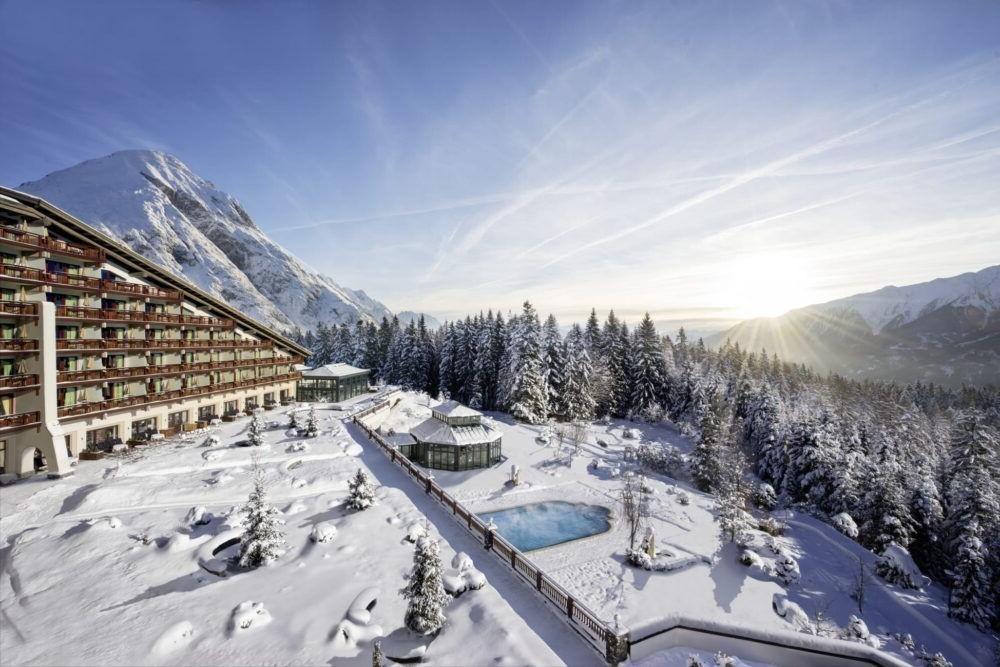 Hospedaje en el Interalpen-Hotel Tyrol