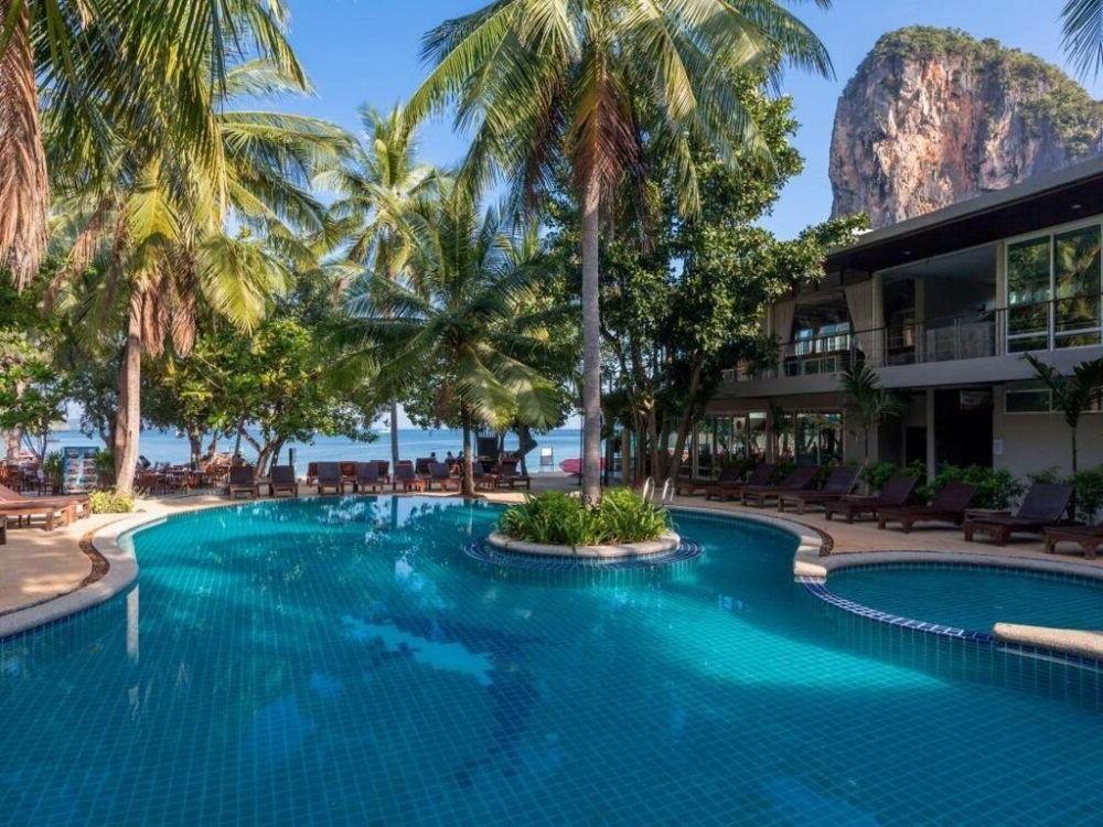 Hospedaje en el Sand Sea Resort Railay Beach