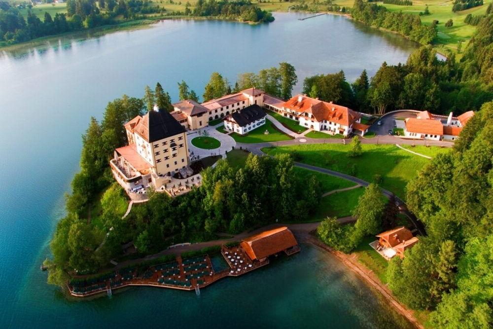 Hospedaje en el Schloss Fuschl