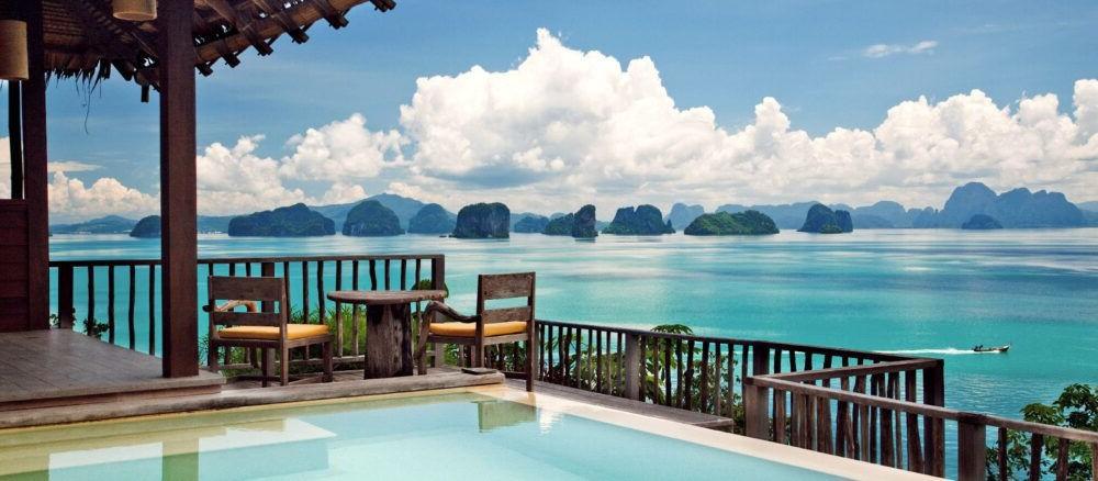 Los 11 hoteles más increíbles de Tailandia
