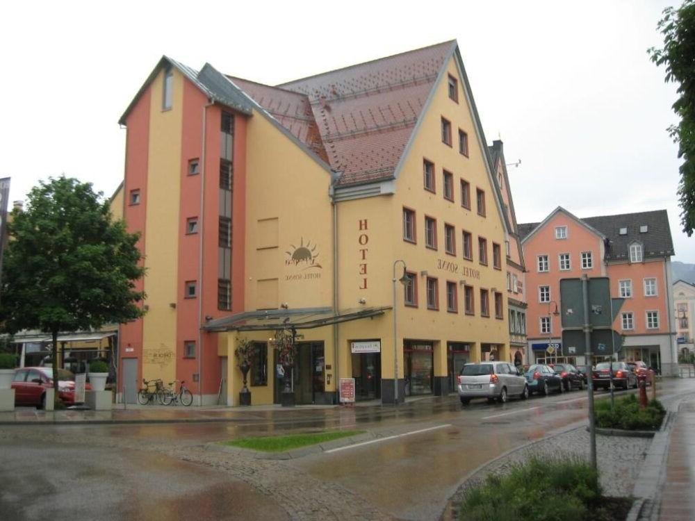 Hospedarse en Hotel Sonne, Fussen