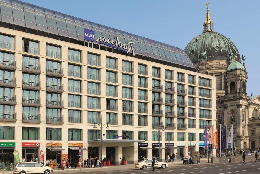 Hospedarse en Radisson Blu Hotel, Berlin