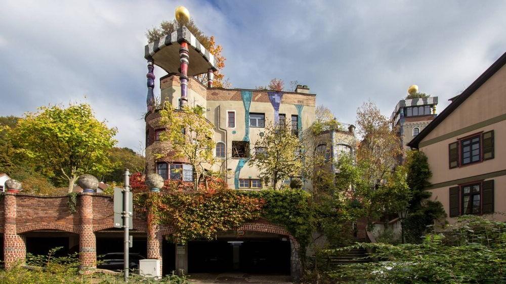 Hundertwasserhaus, Bad Soden