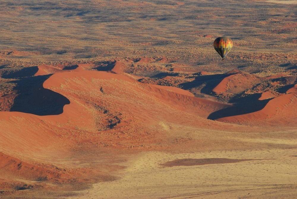 Imagen del Parque Nacional de Namib-Naukluft