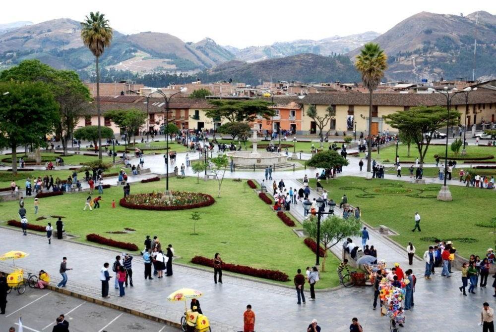 La ciudad de Cajamarca