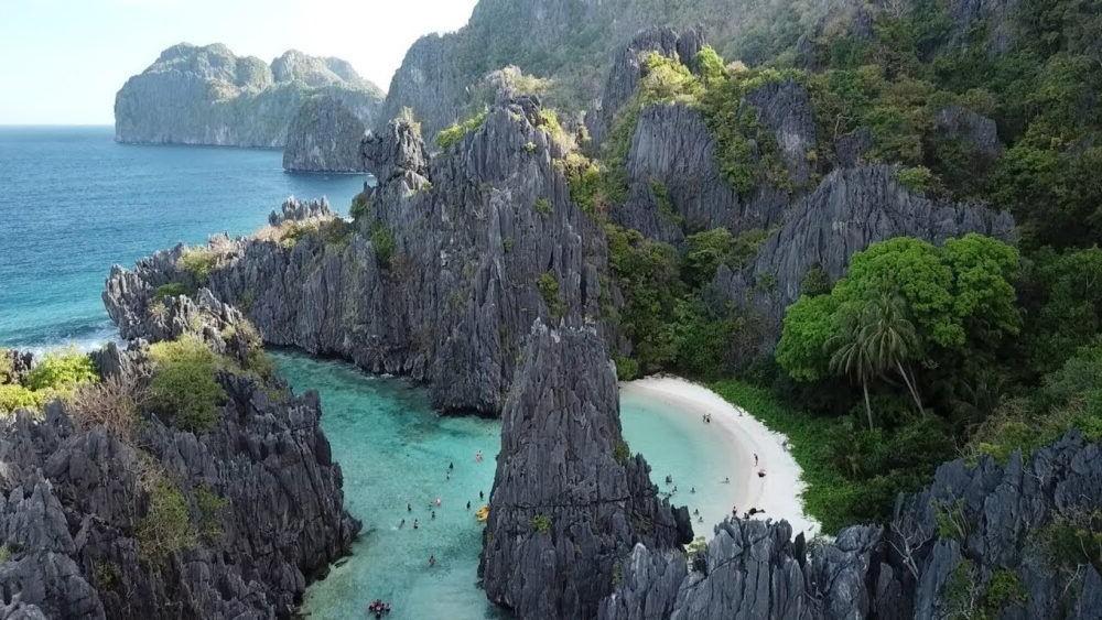 Mejores Playas de filipinas, Hidden Beach, Palawan