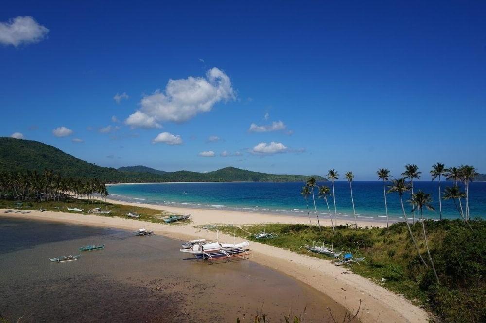 Mejores Playas de filipinas, Nacpan-Calitang Beach, Palawan
