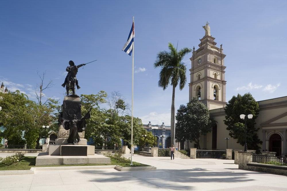 Parque Agramonte en Camagüey