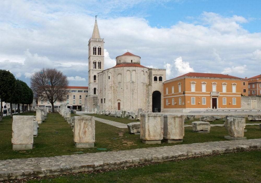Que hace en Zadar, Roman Forum