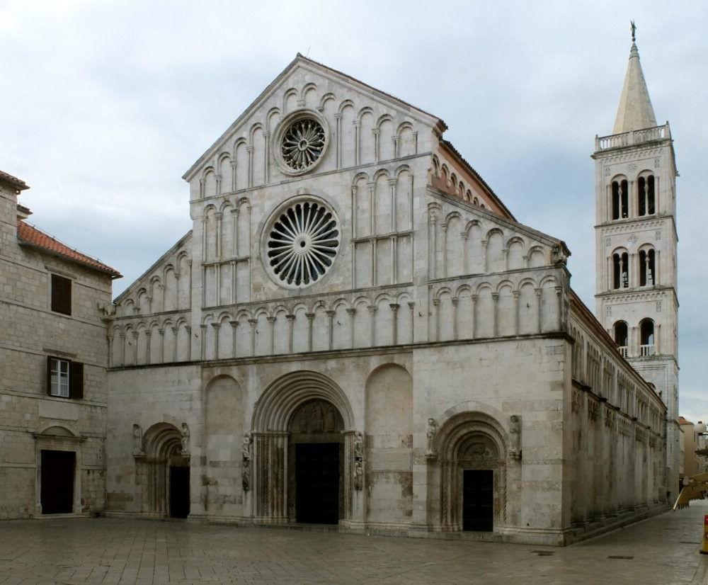 Que hacer el Zadar, La Catedral de Santa Anastasia