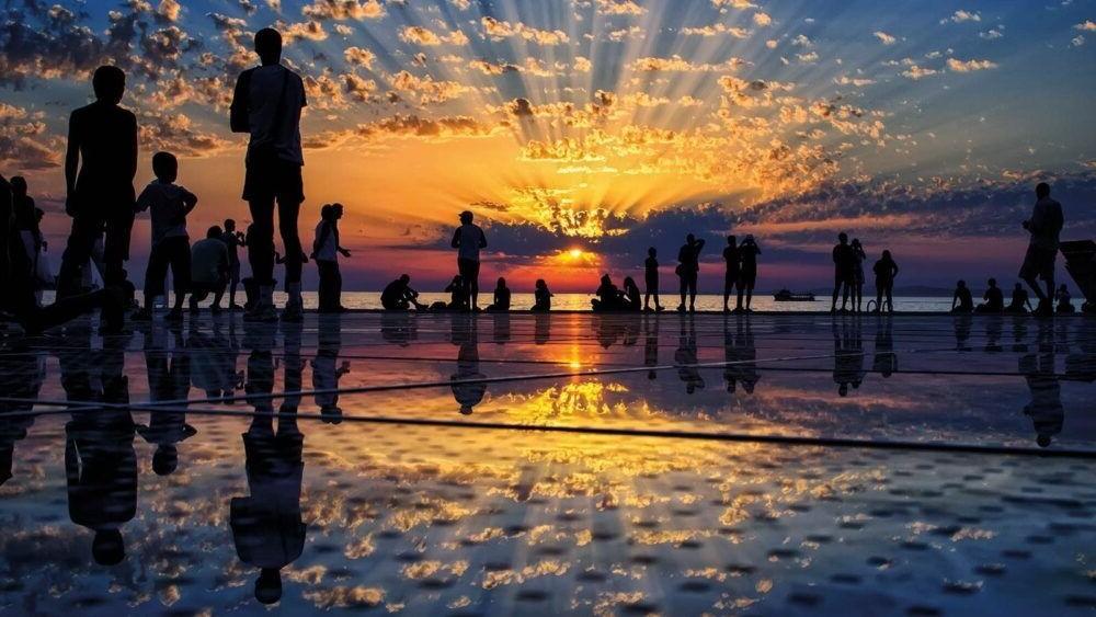 Que hacer en Zadar, Saludo al Sol