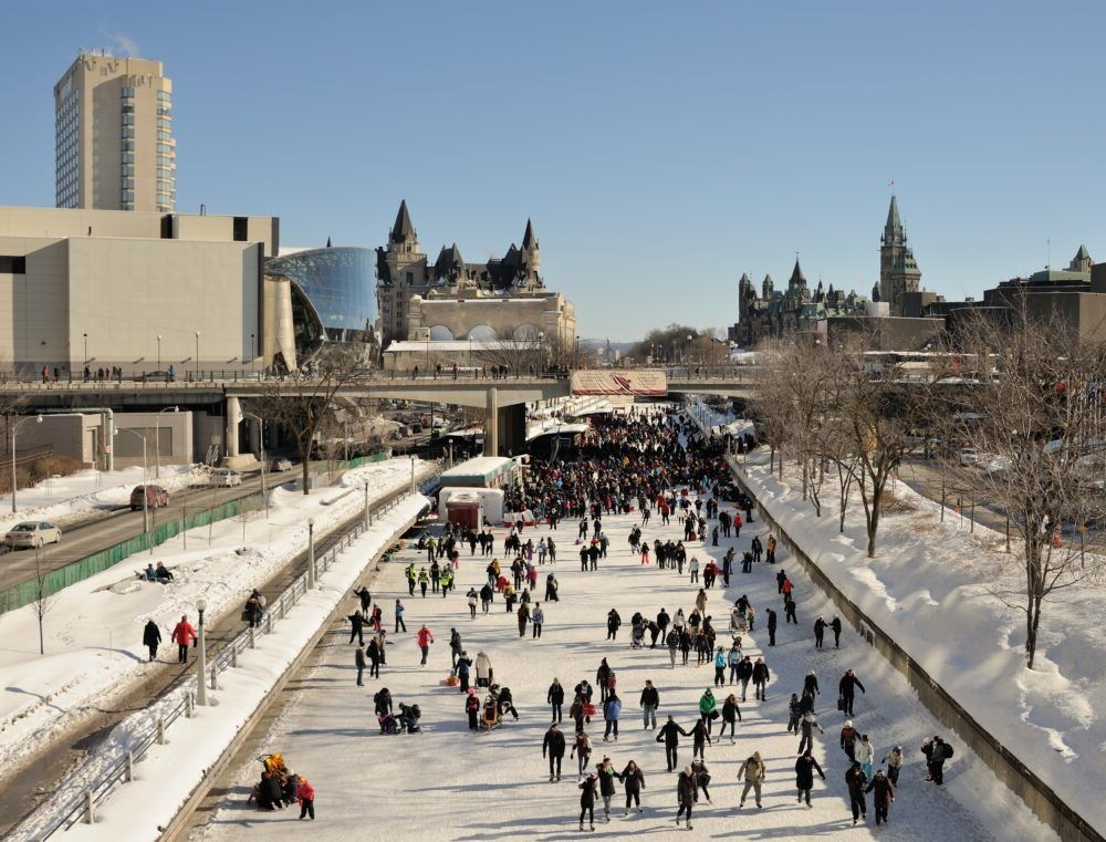 Rideau Canal Skateway, Ottawa