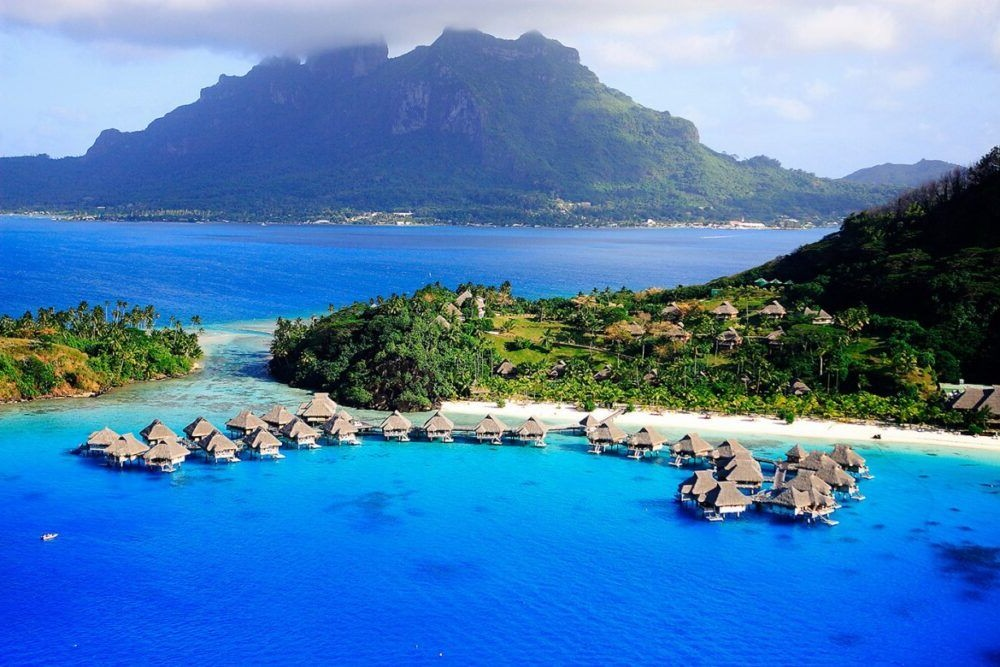 8 hermosas islas de la Sociedad