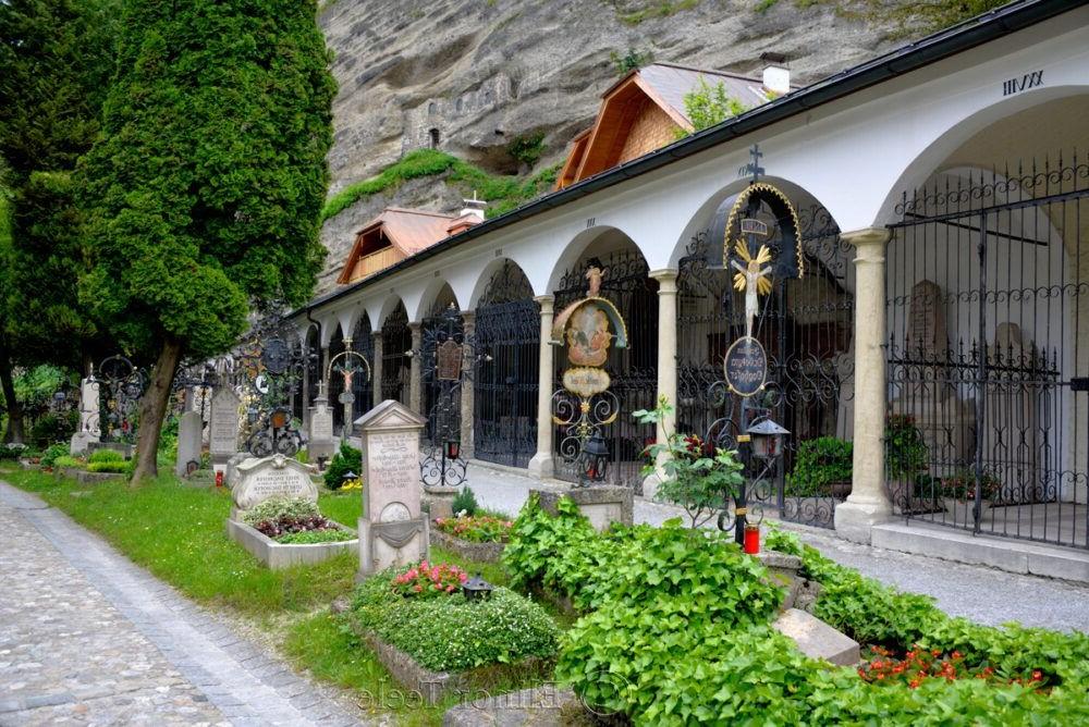 Tour por Petersfriedhof
