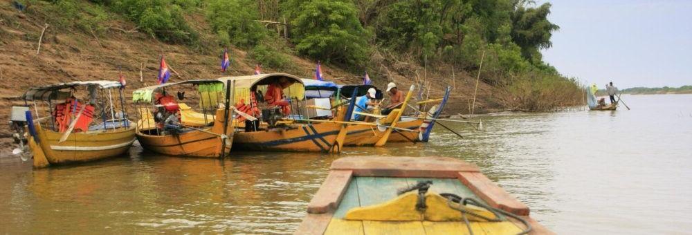 Visitar y quedarse en Kratie Camboya