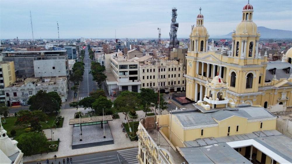 Vista aérea de Chiclayo Parú