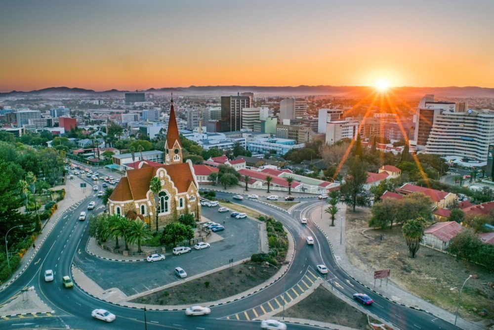 Vista de Windhoek