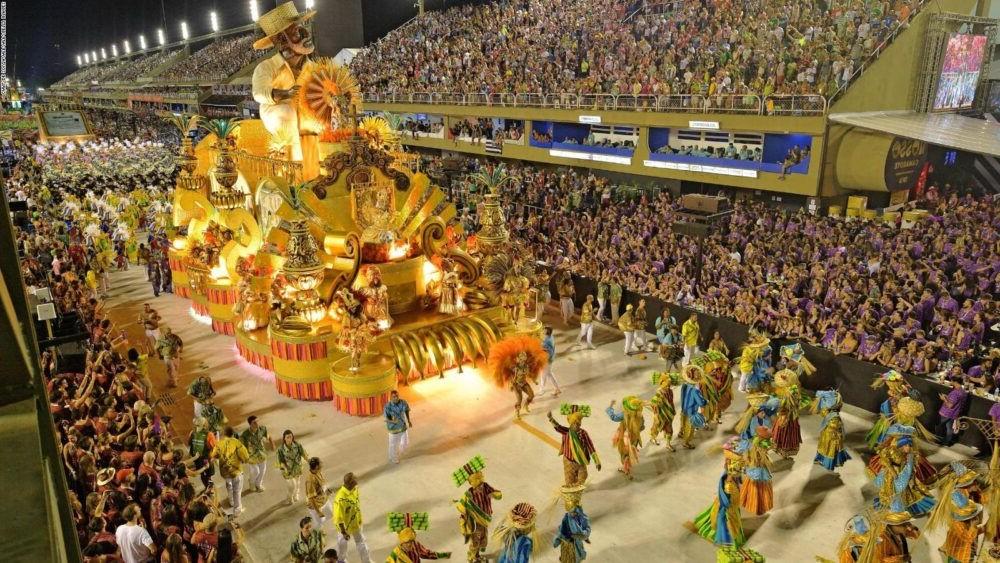 Vista del Carnaval de Río de Janeiro