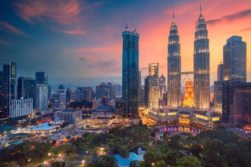 Vista del Kuala Lumpur