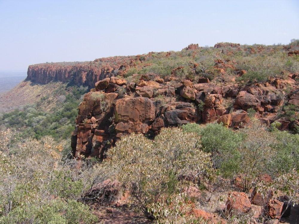 Vista del Parque de la Meseta de Waterberg