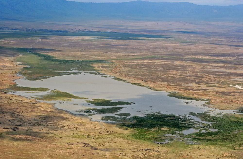 Vista del Parque del área de conservación de Ngorongoro