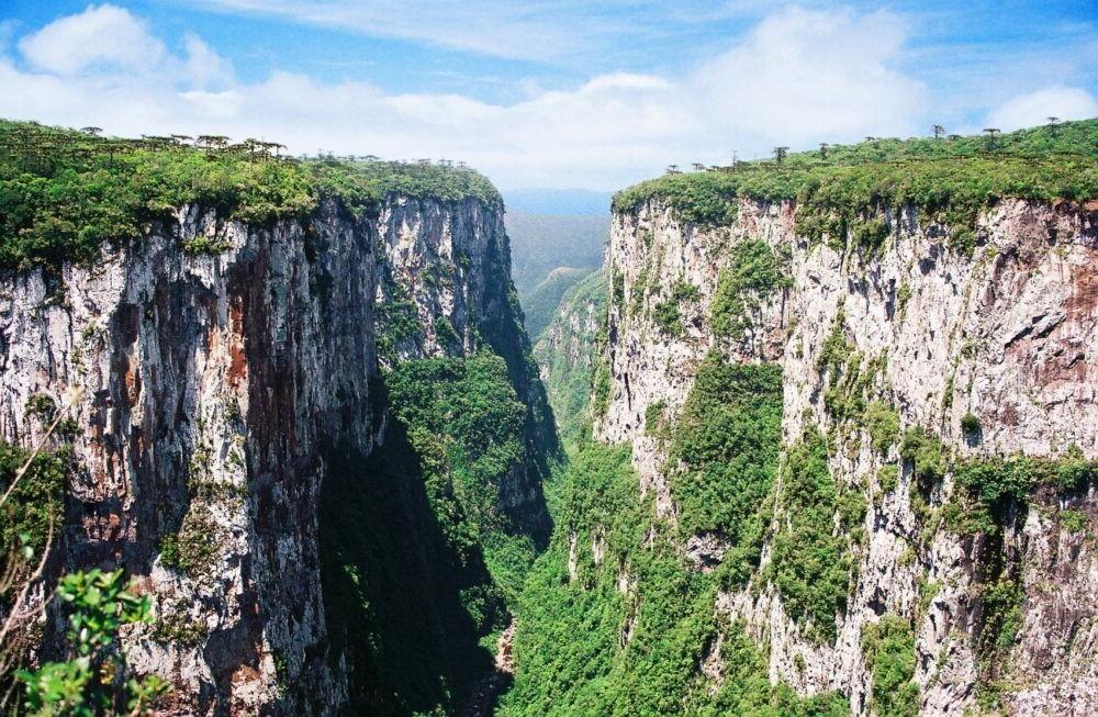 Vita desde lo alto del Parque Nacional Aparados da Serra