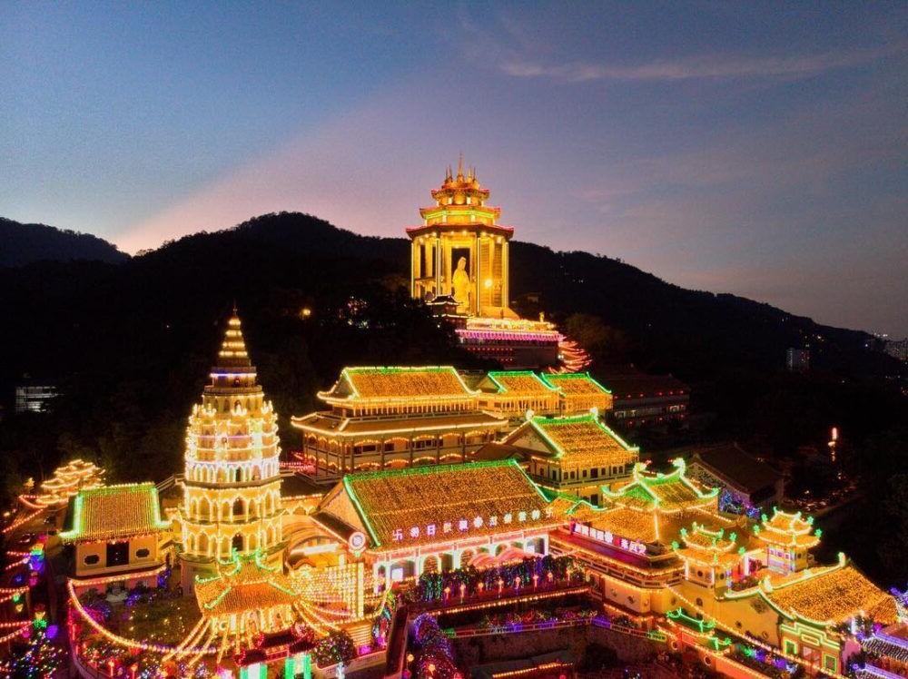 destino Kek Lok Si Temple Penang Island