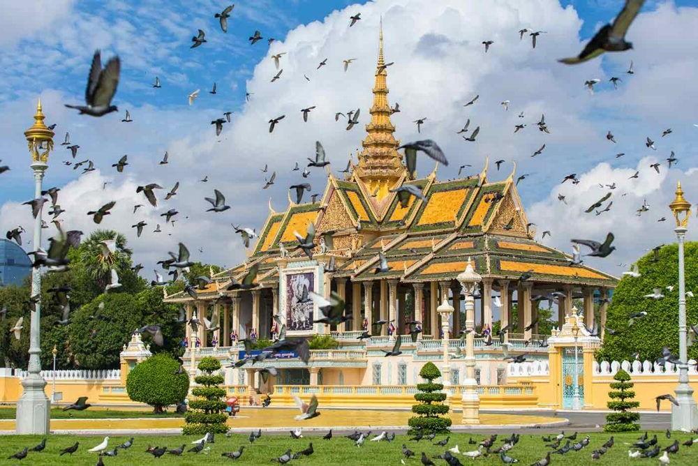 vista del Phnom Penh
