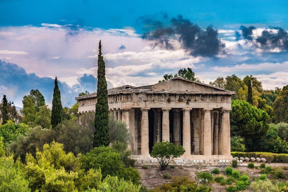 Destino Ágora antigua