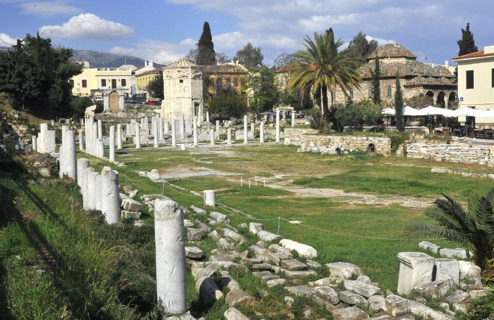 Destino Ágora romana