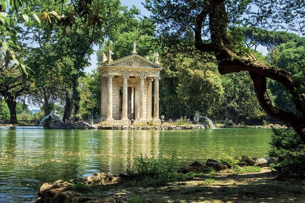 Destino Jardines de Villa Borghese