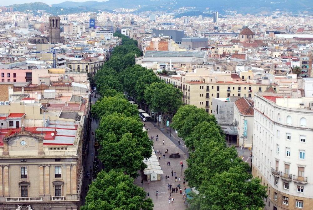 Destino Las Ramblas Barcelona