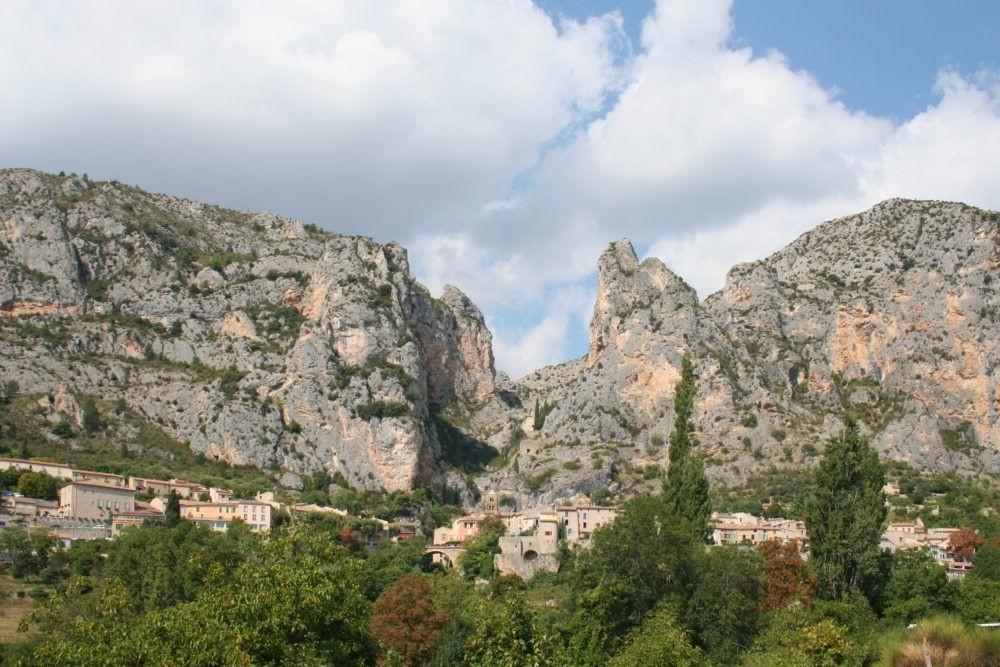 Destino Moustiers-Sainte-Marie