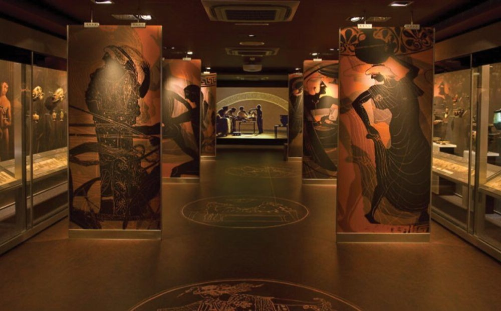 Destino Museo de Arte Cicládico
