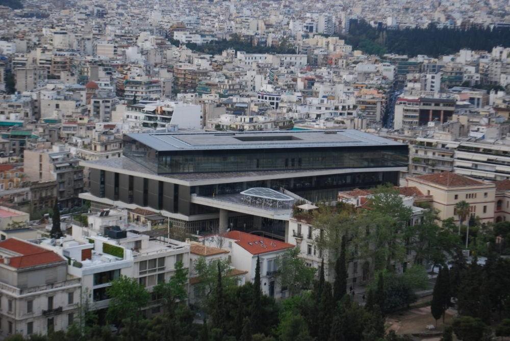 Destino Nuevo Museo de la Acrópolis