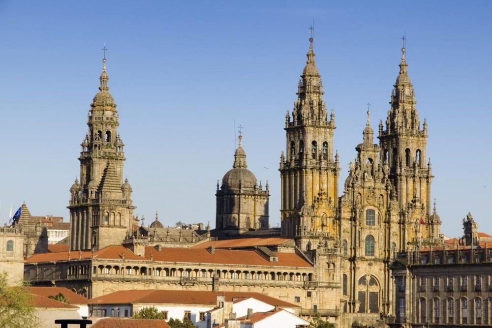 Destino Santiago de Compostela España