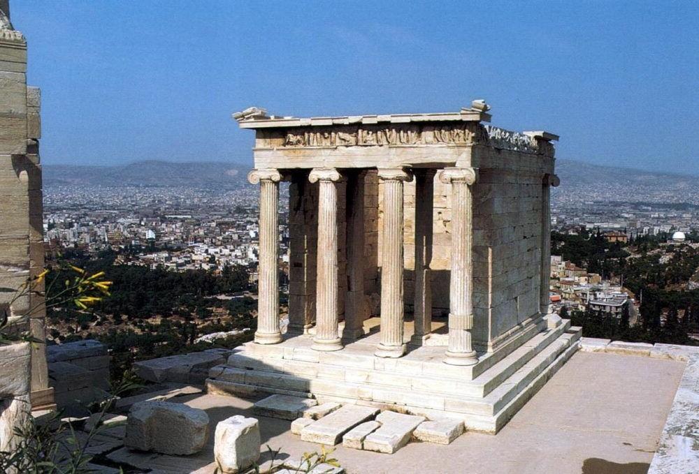 Destino Templo de Athena Nike