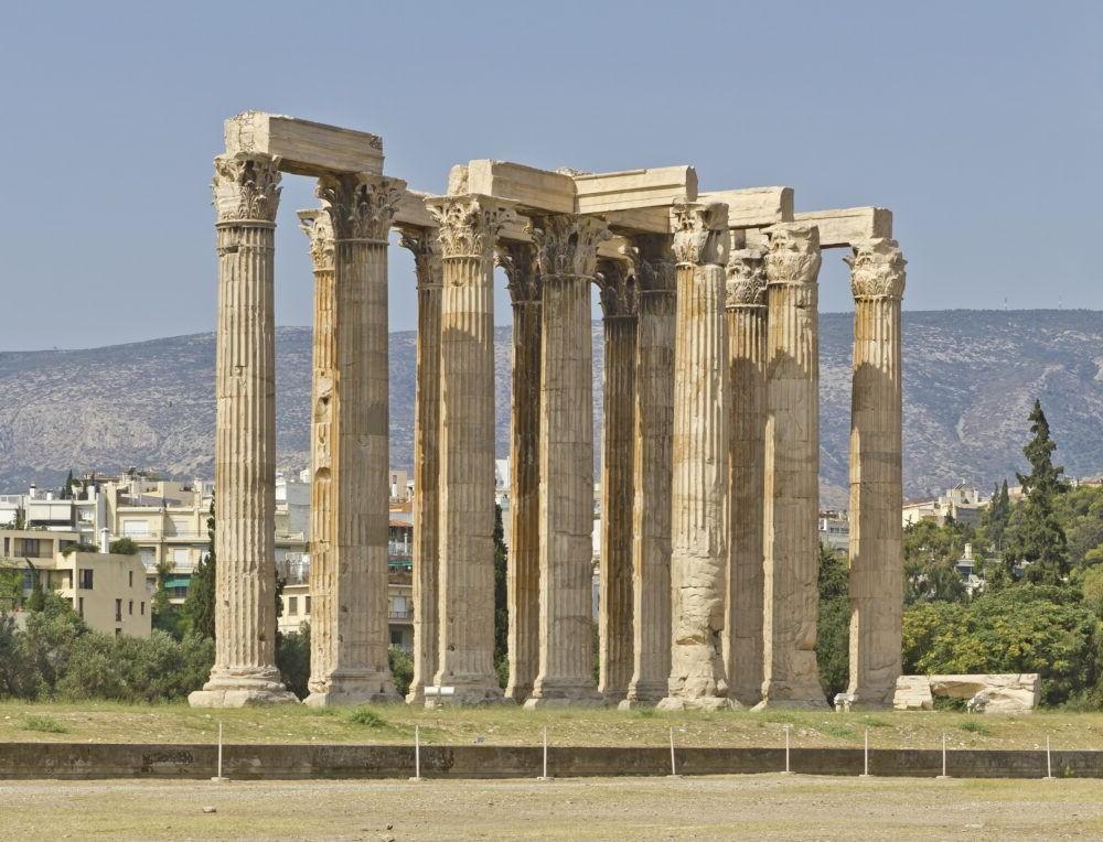 Destino Templo de Zeus Olímpico