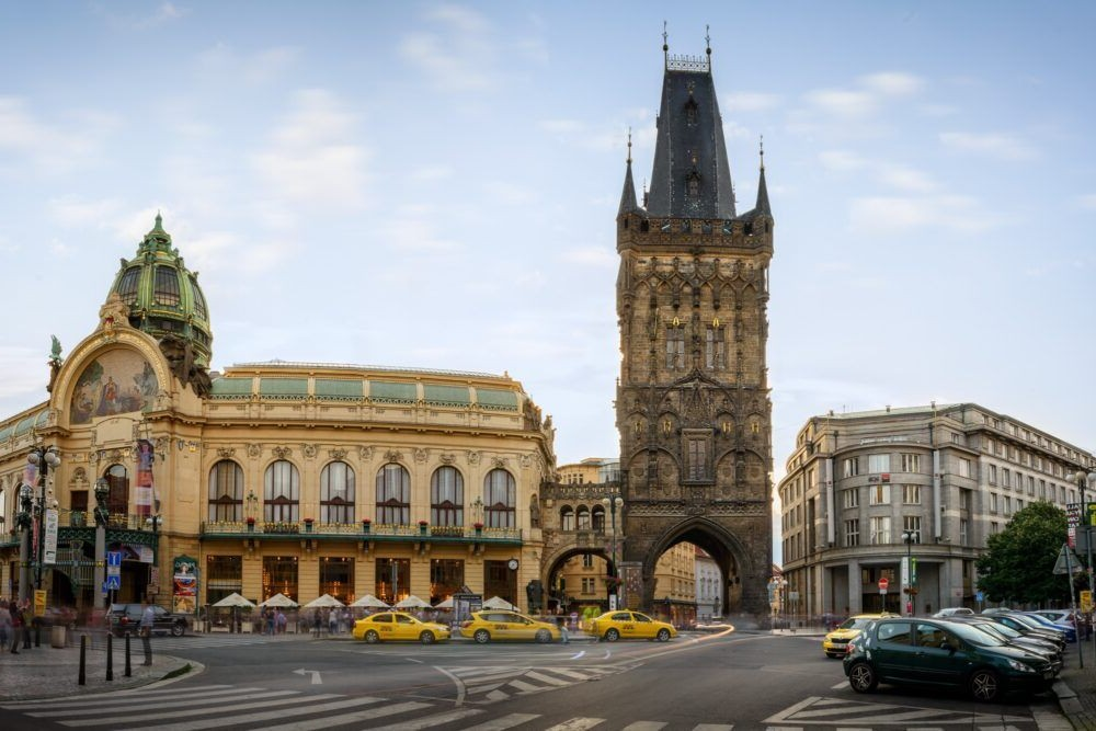Destino Torre de la Pólvora Praga