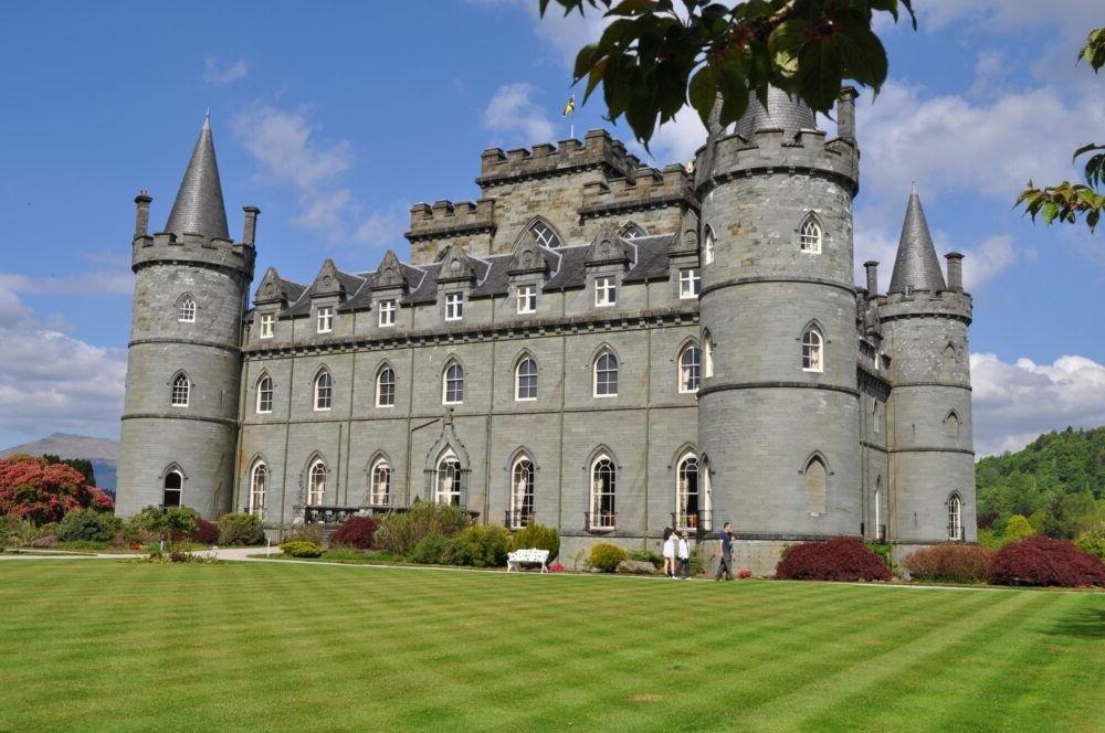 Destino castillo de Inveraray