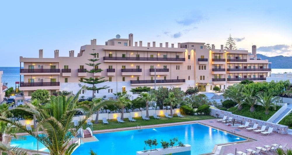 Donde alojarse en Agia Marina Crete