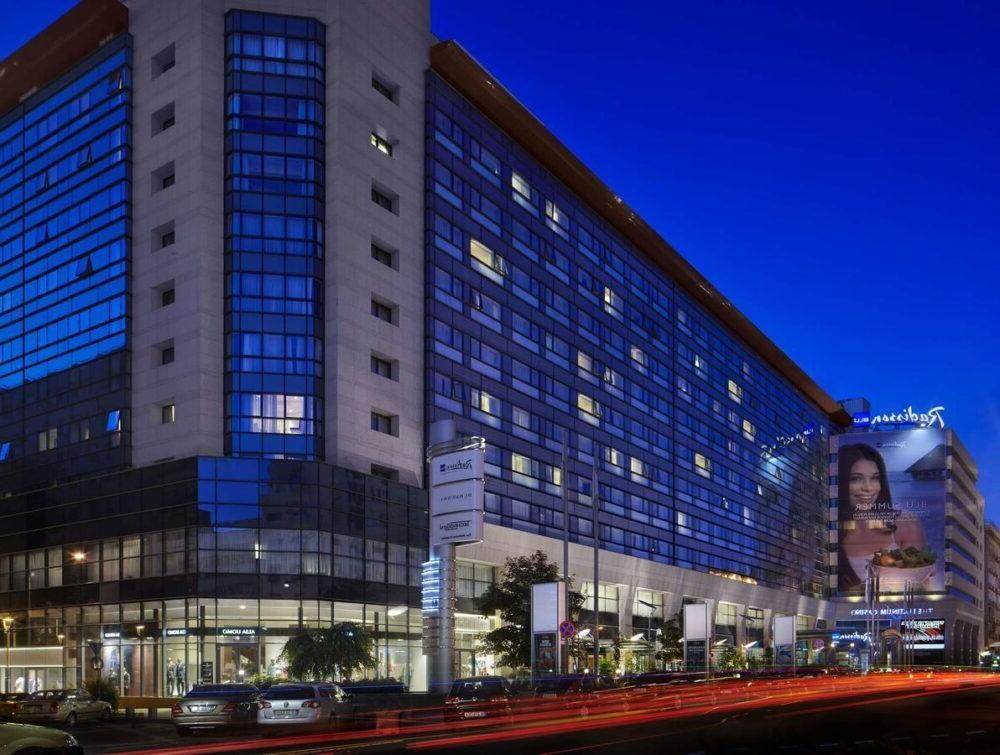 Hospedaje en Hotel Radisson Blu Bucharest