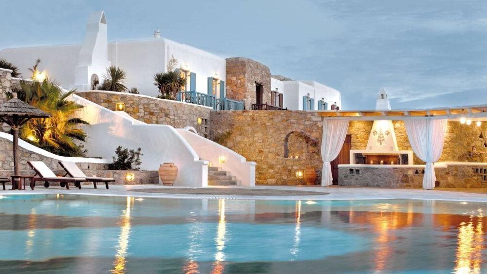 Hospedaje en Mykonos Grand Hotel