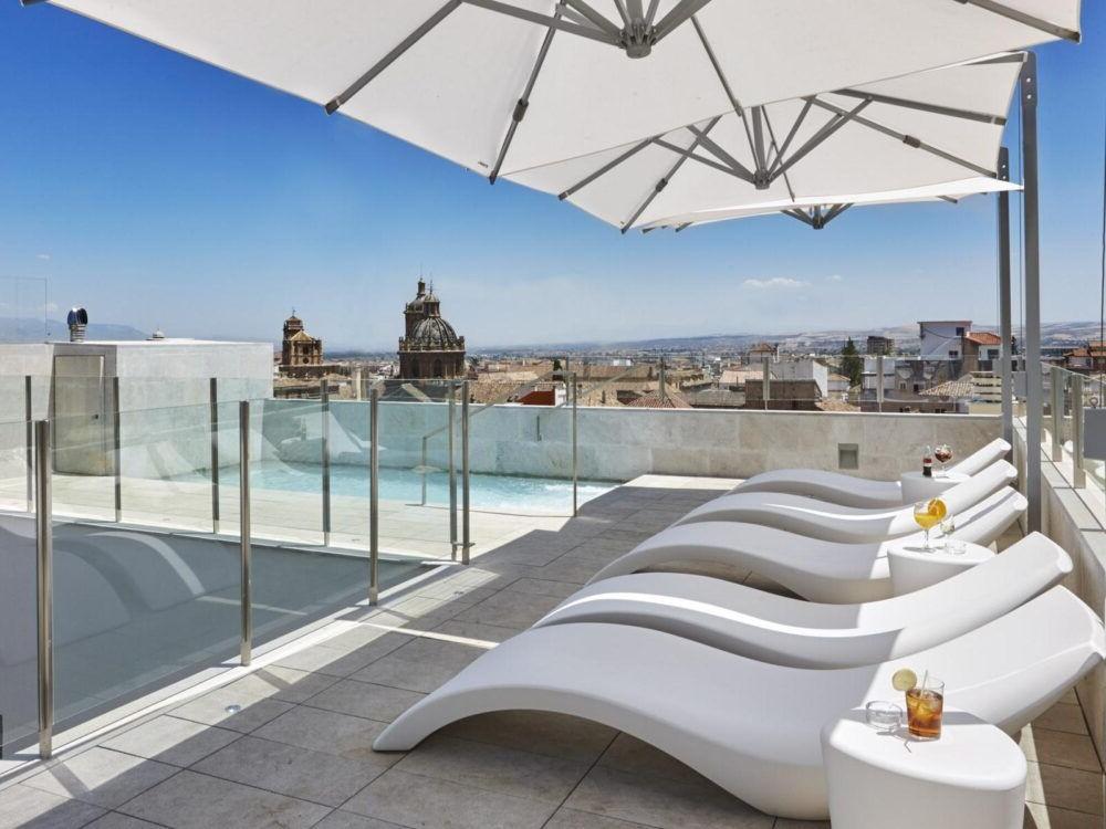 Hospedaje en el Granada Five Senses Rooms Suites España