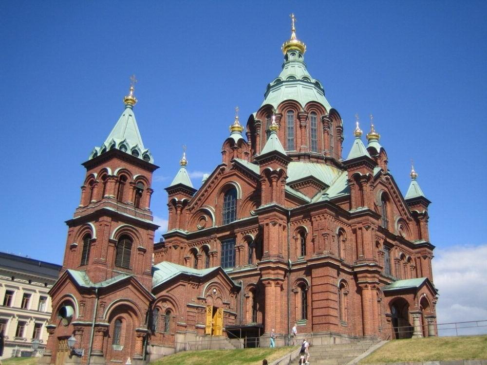 Turismo por la Catedral de Uspenski Helsinki