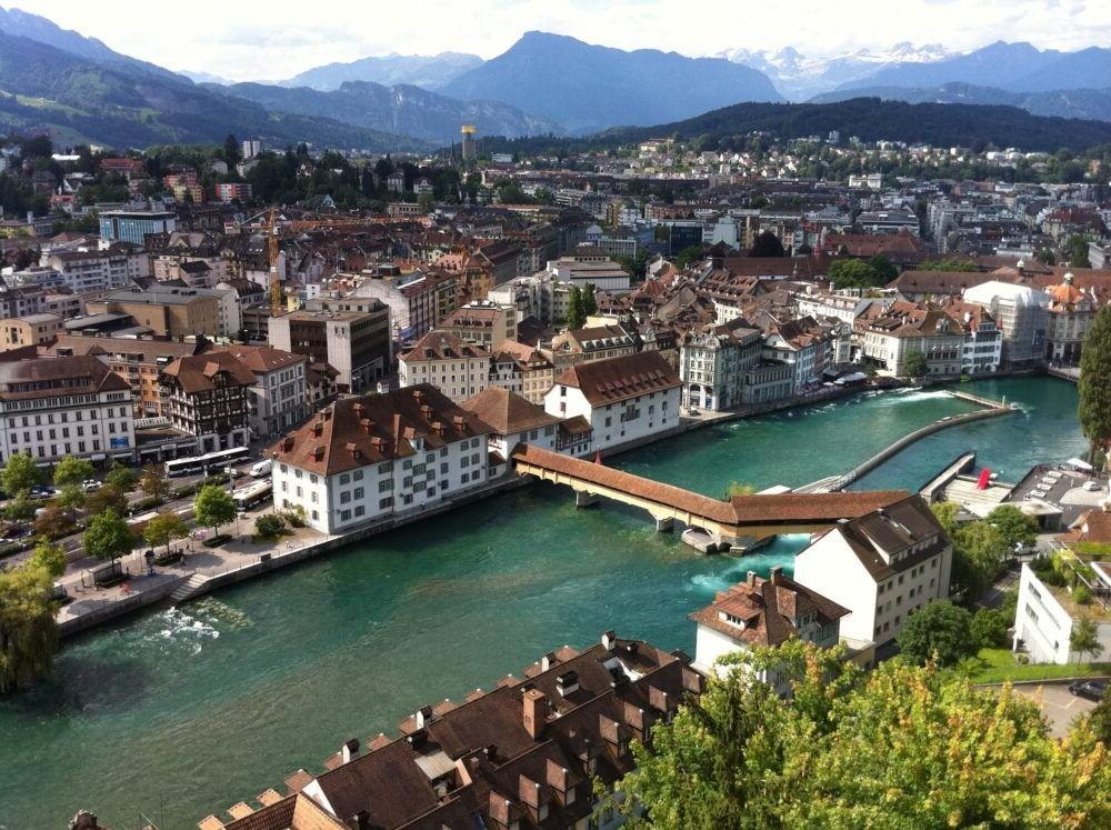 Destino Lago de Lucerna