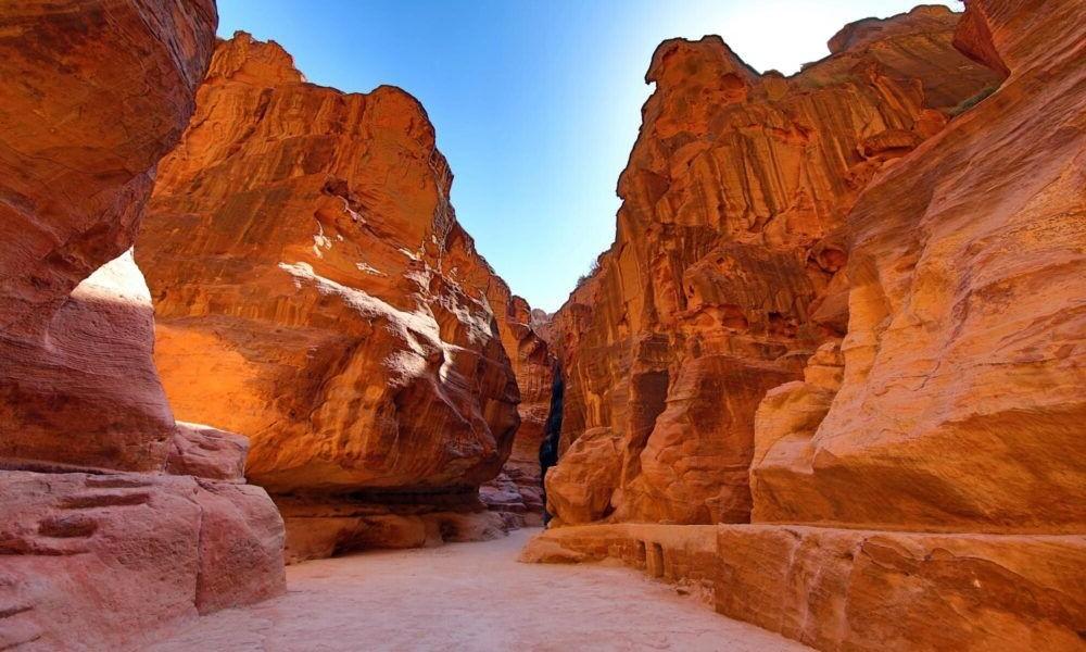 Destino Siq Canyon