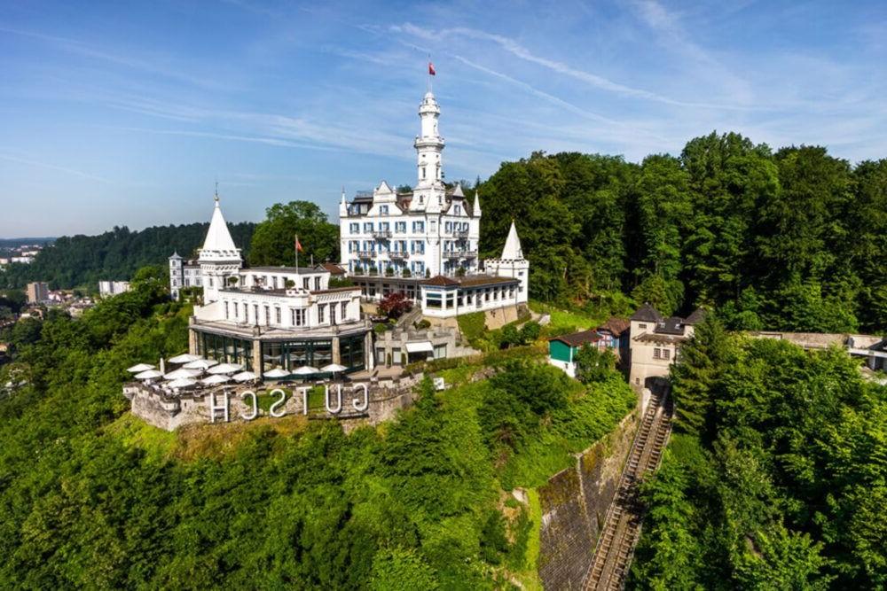 Hospedaje en Hotel Chateau Gutsch, Lucerna
